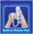 WII/WII U WIIMOTE + MOTION PLUS INSIDE + NUNCHUK WHITE